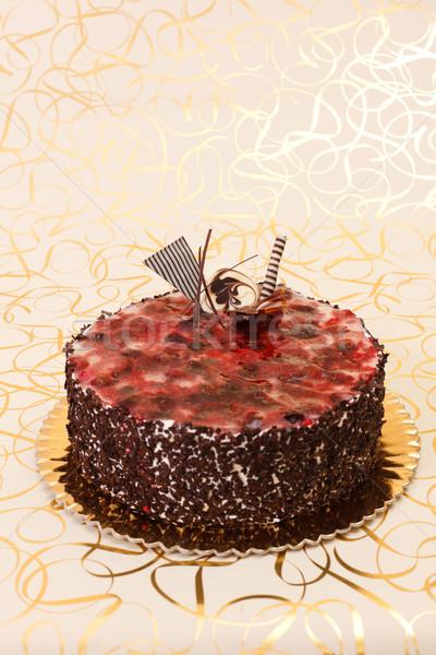 Fruit jelly cake Stock photo © erierika