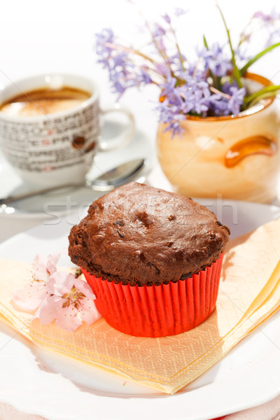 Chocolate muffin Stock photo © erierika