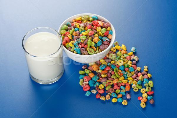 Сток-фото: пшеницы · семян · молоко · нездоровой · пищи · искусственный · стекла