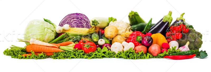 Bunch of various vegetables Stock photo © erierika