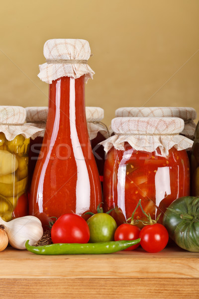 Vegetable preserves Stock photo © erierika