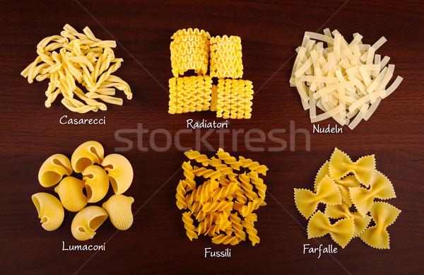 Pasta collection 2. Stock photo © erierika