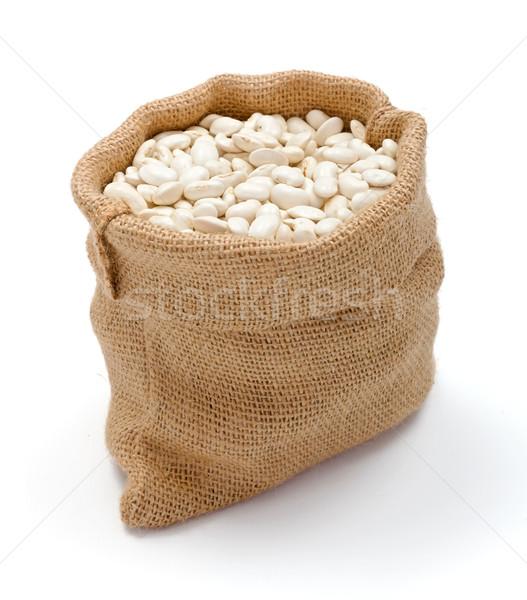 黄麻布 袋 豆 緩い ストックフォト © erierika