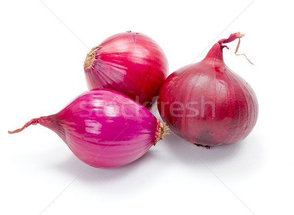 Red onions Stock photo © erierika