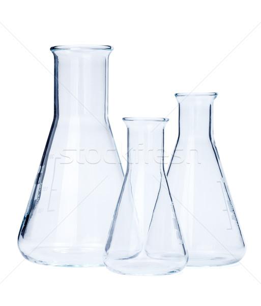 Erlenmeyer flasks of various size Stock photo © erierika