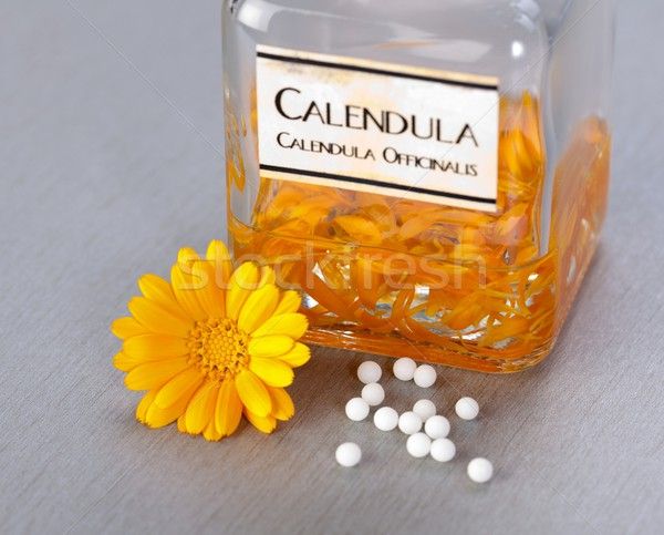 Calenudla Officinalis plant extract Stock photo © erierika