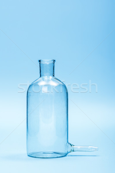 Empty clear filtering bottle Stock photo © erierika