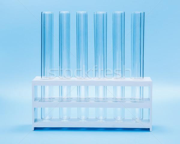 пусто испытание Трубы стойку химического лаборатория Сток-фото © erierika