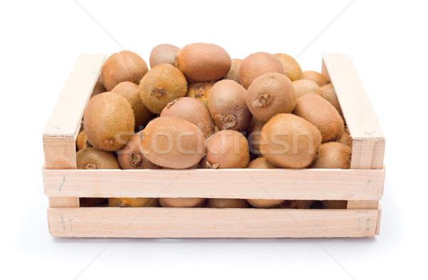 Kiwifruits in box Stock photo © erierika