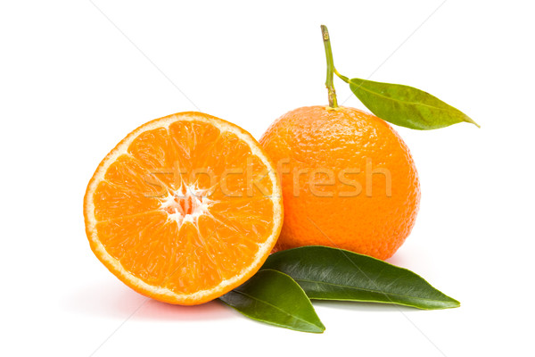 Mandarin (satsuma or tangerine) Stock photo © erierika