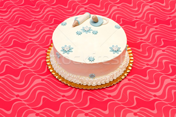 White baptist cake Stock photo © erierika