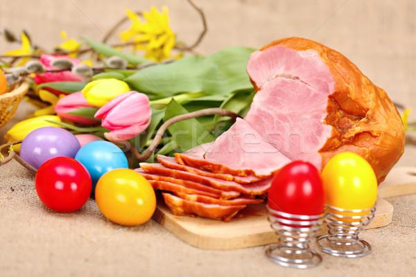 Easter arrangement Stock photo © erierika