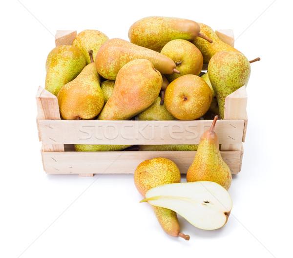 梨子 木 框 成熟 水果 商業照片 © erierika