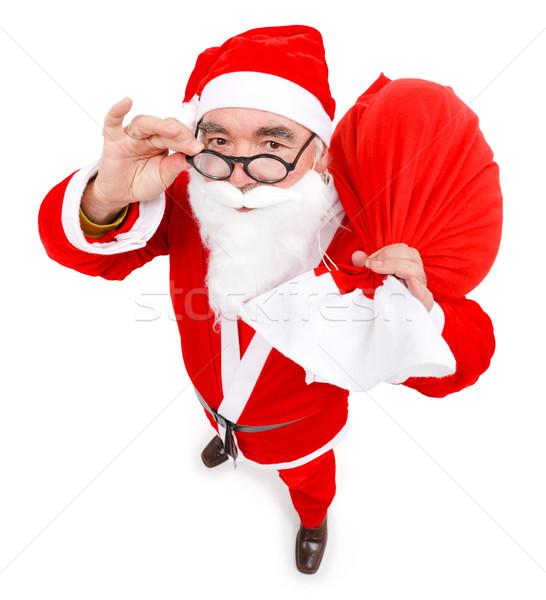 Santa claus with full bag Stock photo © erierika