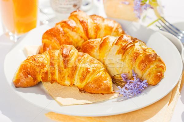Croissants Stock photo © erierika