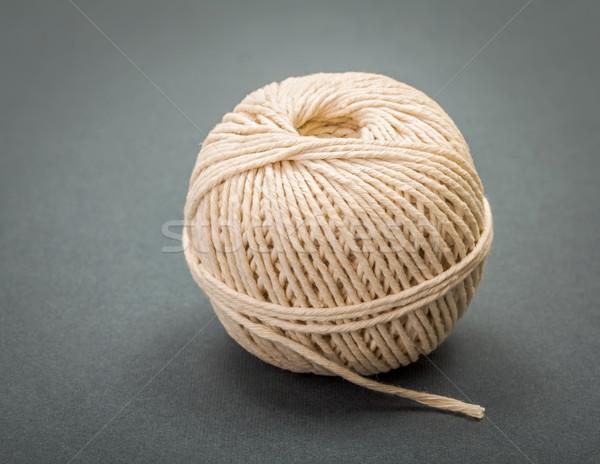 хлопка кабеля шнура белый серый поверхность Сток-фото © erierika