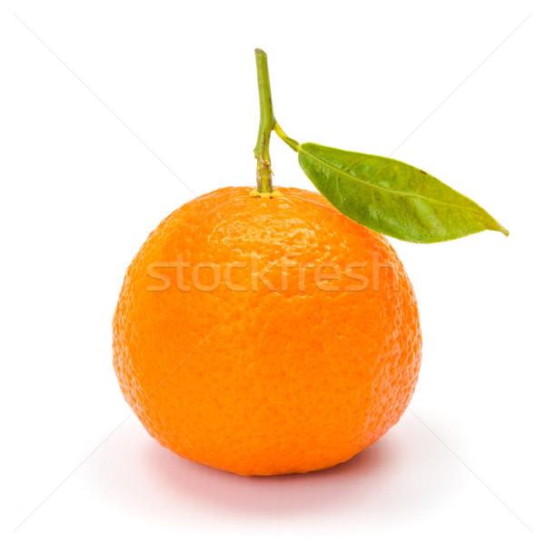 Mandarijn- mandarijn rijp citrus oranje witte Stockfoto © erierika