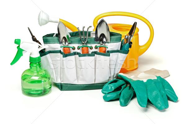 Gardening tools set Stock photo © erierika