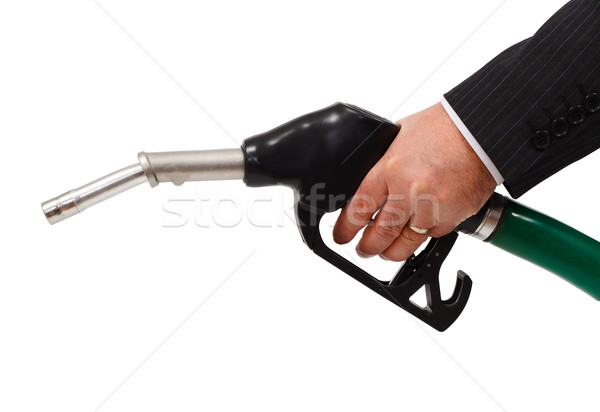 Gas nozzle Stock photo © erierika
