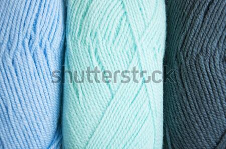 Garen kleurrijk huis kleur achtergronden Stockfoto © Es75