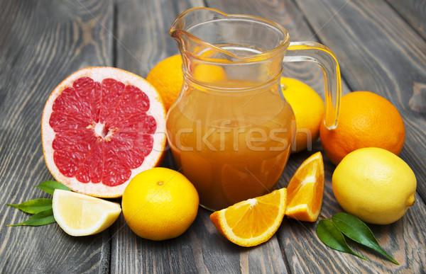 Citrus  juice Stock photo © Es75