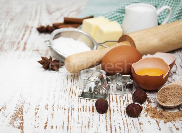 Baking ingredients  Stock photo © Es75