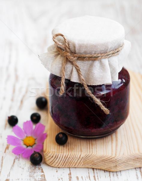 Black currants jam Stock photo © Es75