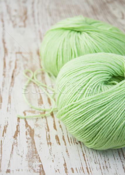 Knitting yarn Stock photo © Es75