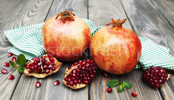 pomegranates Stock photo © Es75