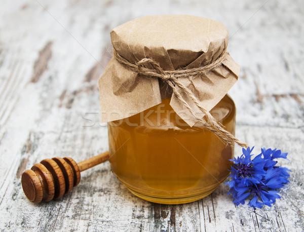 меда свежие трава древесины природы здоровья Сток-фото © Es75