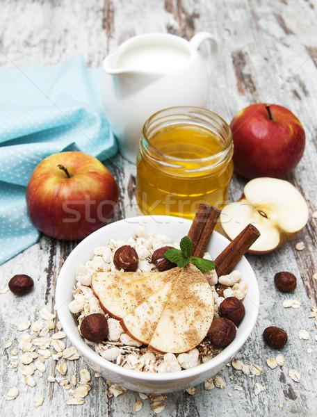 healthy breakfast Stock photo © Es75