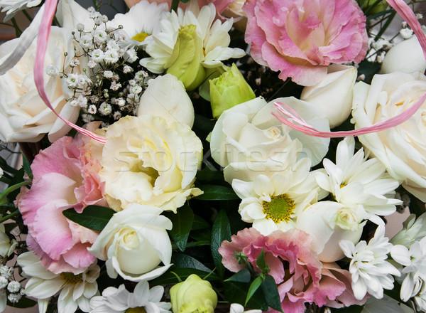 Сток-фото: букет · цветы · красивой · цветок · весны · свадьба