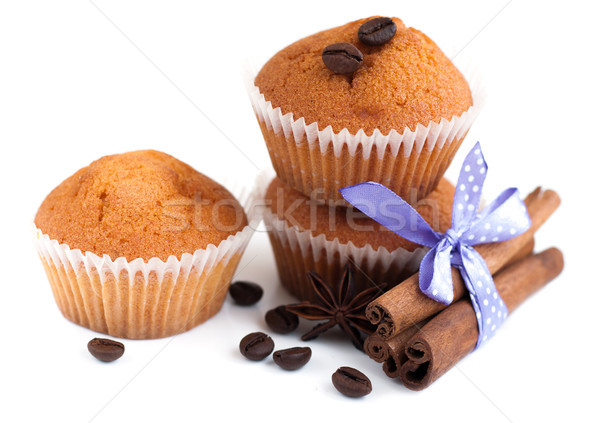 Stock photo: Muffins