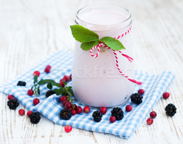 Yogurt Stock photo © Es75