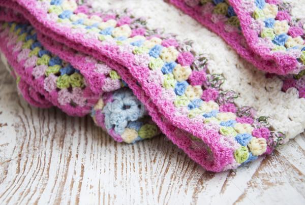 вязанье бабушка пространстве Сток-фото © Es75