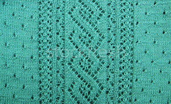 Wol patronen groene handgemaakt wollen Stockfoto © Es75