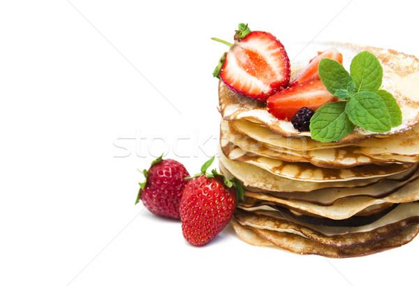 Pancakes Stock photo © Es75