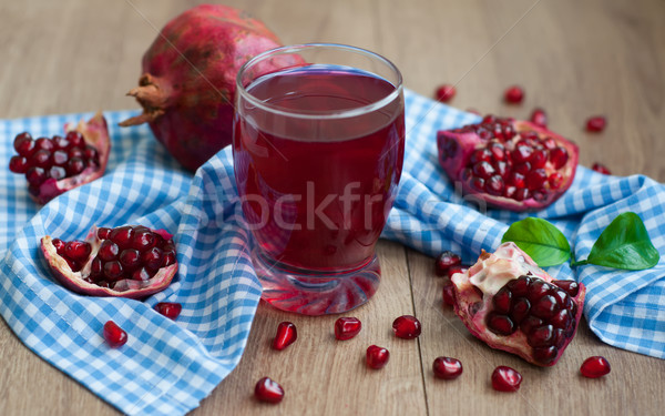 pomegranate juice Stock photo © Es75