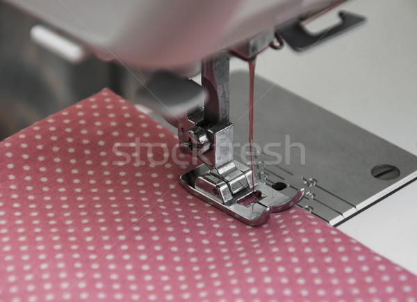 швейные машины подробность текстуры работу дизайна Сток-фото © Es75