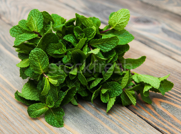Leaves of mint Stock photo © Es75