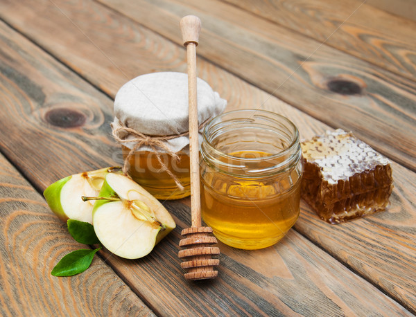 honey and apple Stock photo © Es75