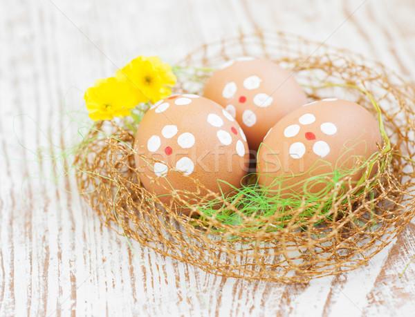 Easter eggs Stock photo © Es75