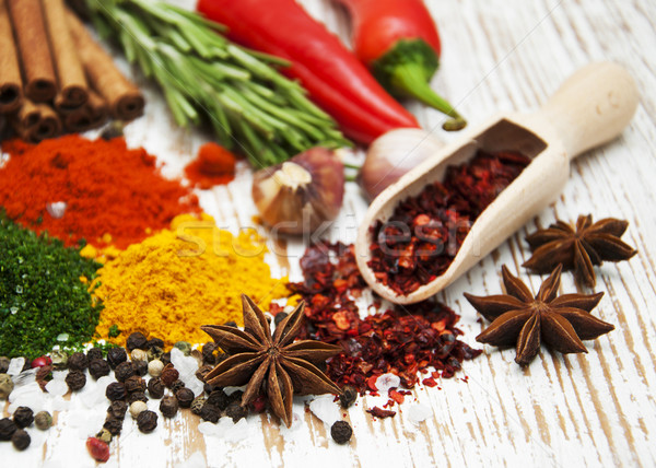 Сток-фото: специи · травы · разнообразие · ароматический · Ингредиенты · природного