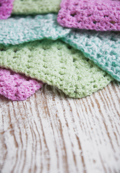 Knitted  Detail Stock photo © Es75