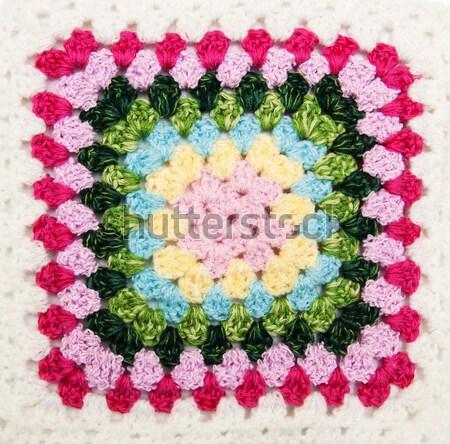 Crochet Blankets Stock photo © Es75