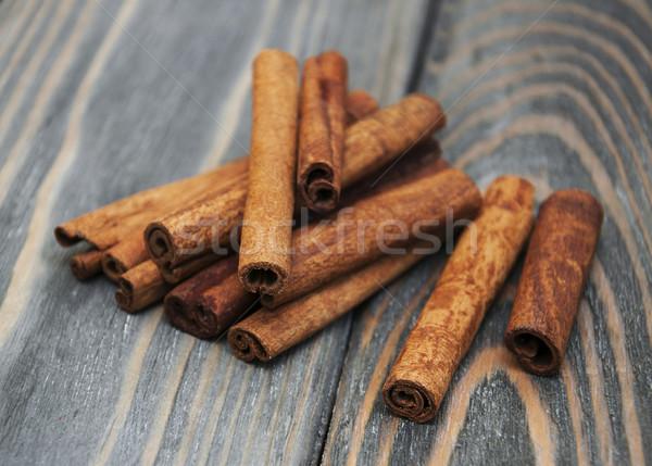 корицей старые древесины природы фон Сток-фото © Es75