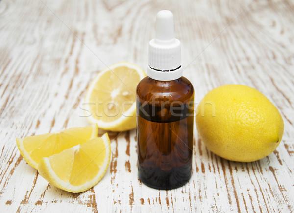 Limón frescos frutas naturaleza Foto stock © Es75