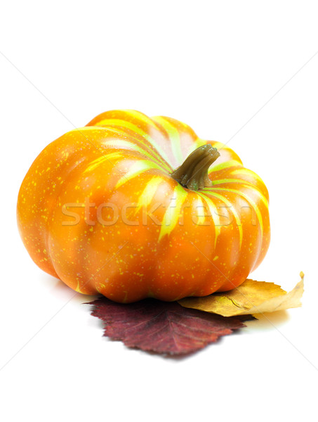 Autumn decoration with pumpkins Stock photo © Es75