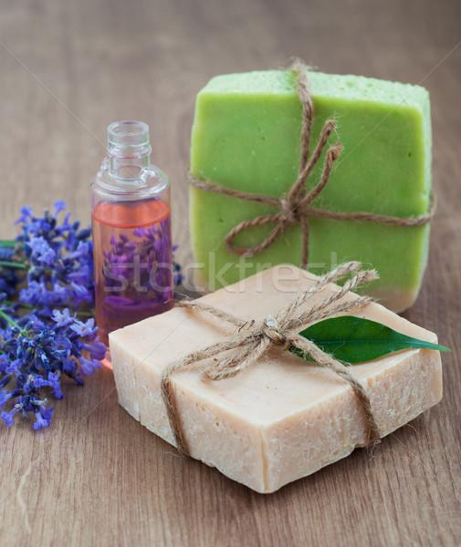 Handmade soap Stock photo © Es75