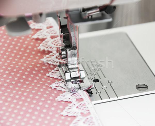 Sewing Machine Detail Stock photo © Es75